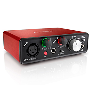 Amazon.com: Focusrite Scarlett (2ª generación) interfaz de ...