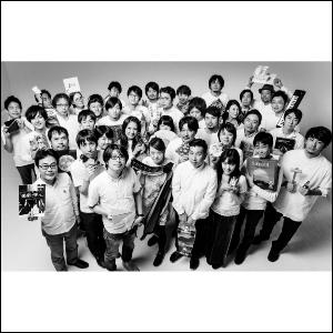 電通Bチームのみんな(撮影:小柴尊昭)