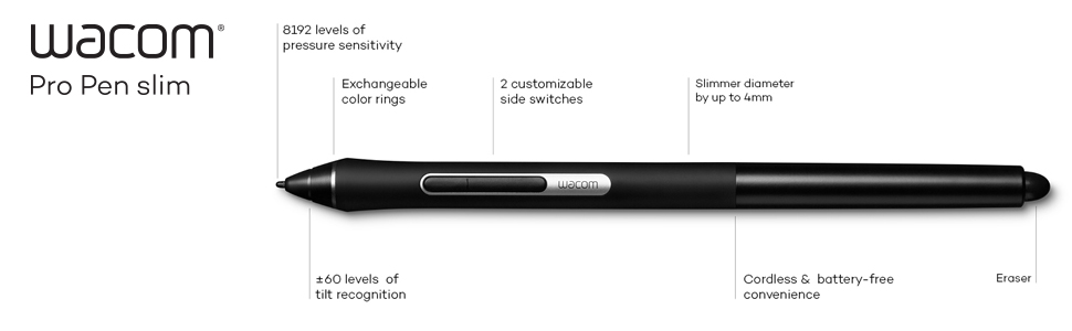 Wacom Pro Pen Slim (KP301E00DZ)