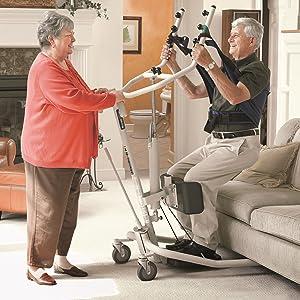 Amazon Com Invacare Get U Up Hydraulic Stand Up Patient