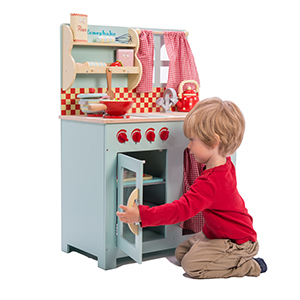 ltv, le, toy, van, wood, wooden, play, honeybake, toys, role, play, kitchen, bake, cook