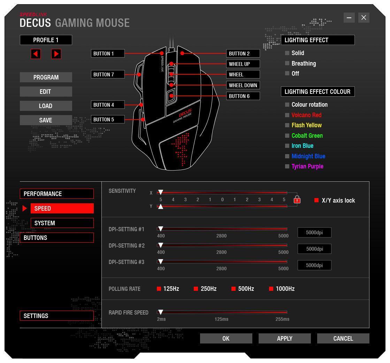 Speedlink Programmierbare Gamer Maus für PC: Amazon.de ...