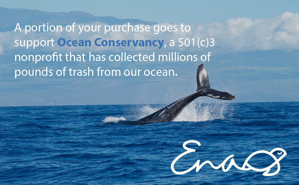 ocean conservancy, earth's natural alternative, compostable, biodegradable