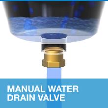 Manual, Water, Drain, Valve