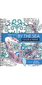 under the sea ocean coloring book for adults grown up senior teens