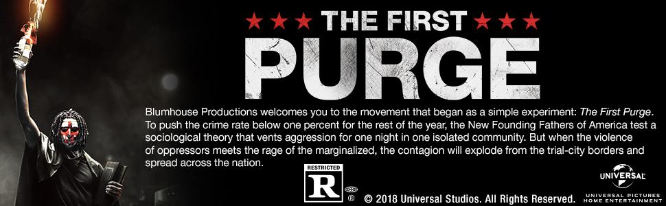 The First Purge, Blumhouse, DVD, Blu-ray, 4K, movie, horror, thriller, The Purge, prequel, film