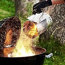 ココナッツシェルの燃焼力