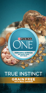 Purina ONE True Instinct Grain Free With Real Chicken adult dry cat food