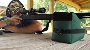 shooting rest, shooting bag, shooting rest bag unfilled, unfilled shooting bag, caldwell, deadshot