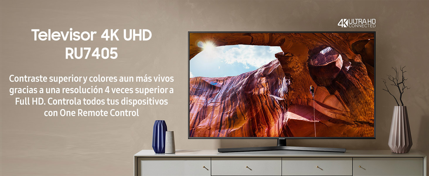 Samsung 65RU7405 serie RU7400 2019 - Smart TV de 65