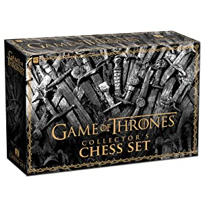 Amazon Com Usaopoly Game Of Thrones Collector S Chess Set Collectible 32 Custom Sculpt Chess Pieces Hbo Game Of Thrones Tv Characters Toys Games