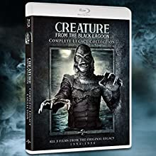 creature from the black lagoon, creature, black lagoon, classic monsters, monster, horror, box set