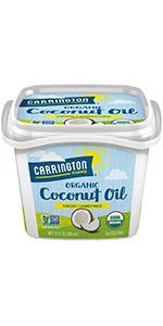 Carrington Farms Organic Virgin Coconut Oil, 12oz.