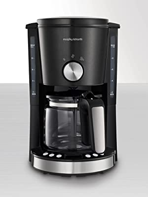 Morphy Richards Evoke Filter Coffee Machine Black 162520