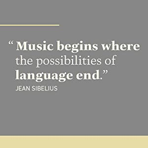 Music begins where the possibilities of language end.