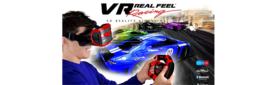 VR Entertainment 49400 Real Feel Virtual Reality Car ...