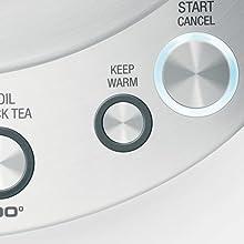 Keep Warm Button