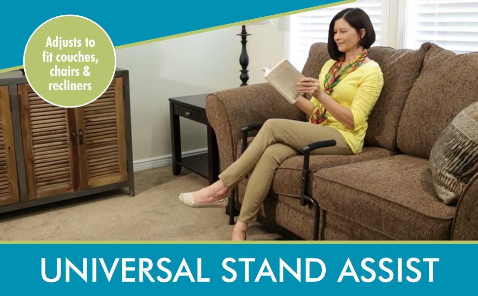 able life universal stand assist daily living walker rollator bed rail medical elder senior room