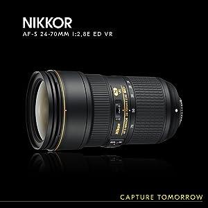 Nikon Af S Nikkor 24 70mm 1 2 8e Ed Vr Objektiv Für Kamera