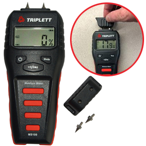 Moisture Meter with Calibration Check