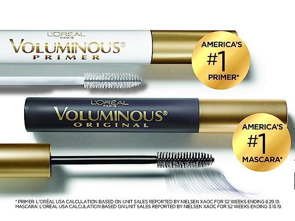 volumizing eyelash primer and mascara