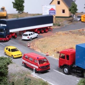 Herpa 084161 Inhalt 2 St/ück Volvo FH GL XL Fahrerhaus ohne Windleitblech