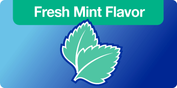 fresh mint flavor graphic