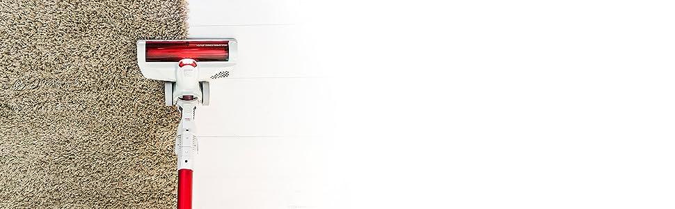 Cecotec Conga ThunderBrush 620 Aspirador Vertical 3 en 1 ciclónica. Filtro HEPA. Autonomía de 40 min. Cepillo monotorizado. Batería de 22,2 V. ...