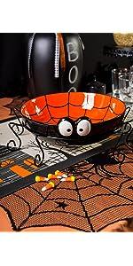 Halloween decor, candy dish, Halloween candy dish, serving bowl for Halloween candy, Halloween