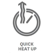 quick heat up