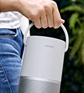 Bose Portable Smart Speaker with Alexa Voice Control Built-In, Luxe Silver