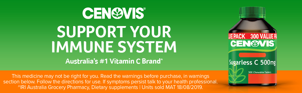 Cenovis; Cenovis Sugarless C 500mg; Cenovis Vitamin C; Vitamin C tablets; Vitamin C supplements