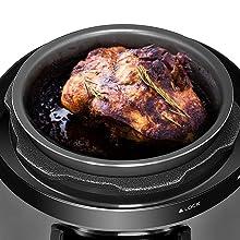 chefman Pressure Cooker,Rice ,Yogurt Maker,Multicooker,Pressure Pot,Multi Cooker