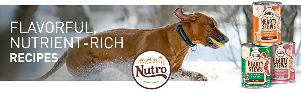 Nutro, Hearty Stews, Wet, Dog Food, Nutrient Rich Recipes