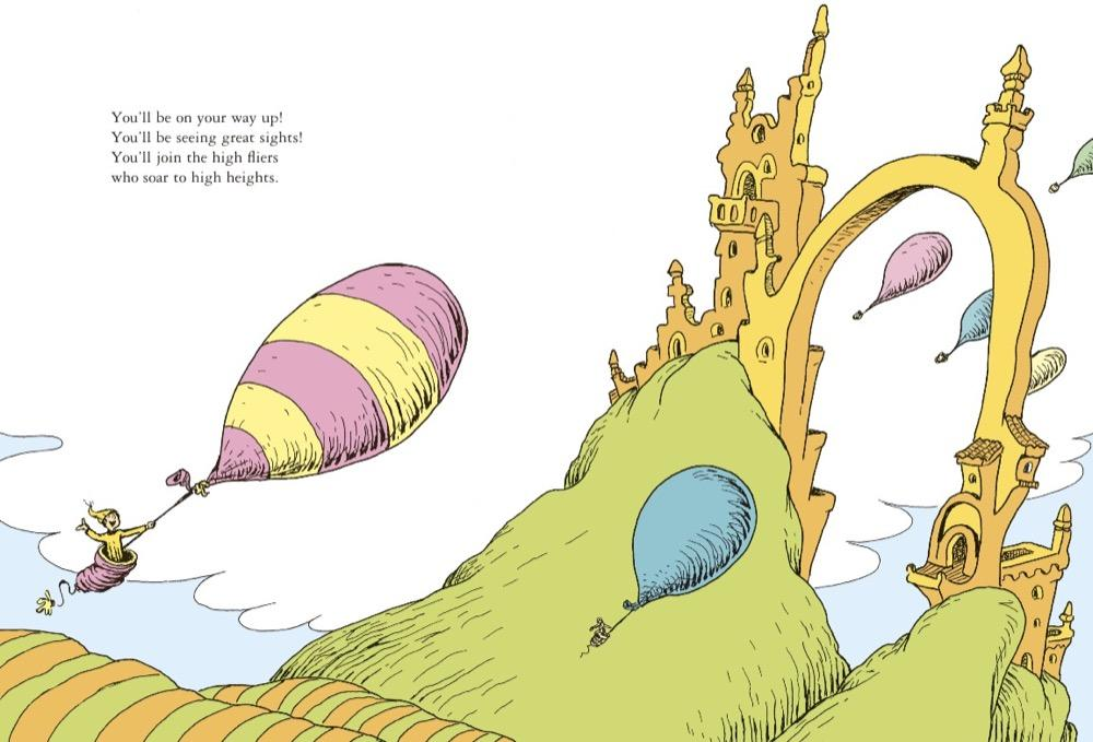 Dr Seuss Oh The Places You Ll Go Quotes Awesome Oh The Places You'll Go Dr Seuss 48 Amazon Books