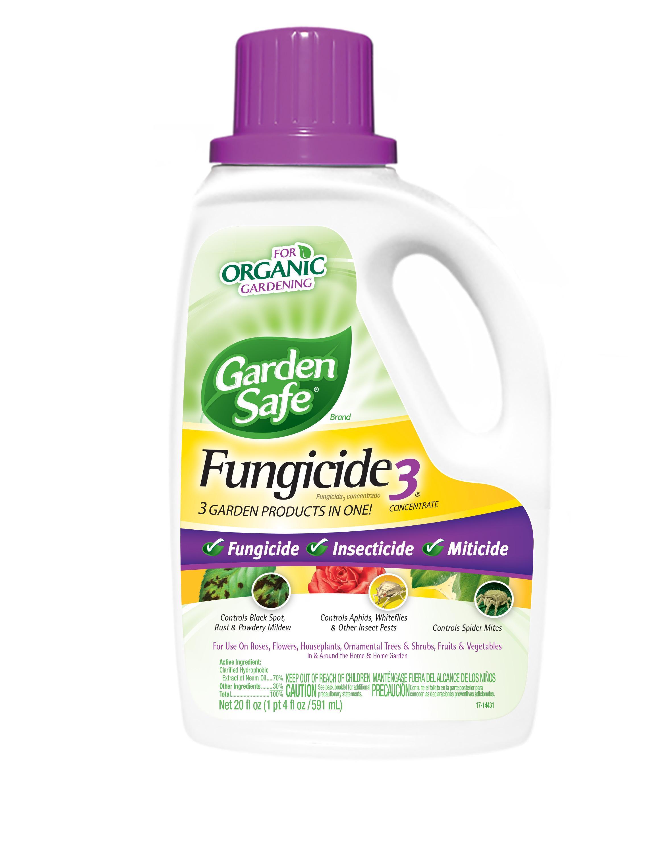 Garden Safe Fungicide3 Concentrate Hg 10411x 20 Fl Oz Garden Fertilizers