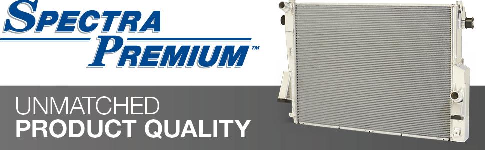 spectra premium, unmatched product quality, radiator, all-aluminium radiator