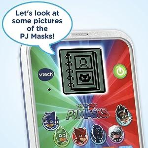 Amazon.com: Máscaras VTech PJ Super Learning para teléfono ...