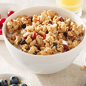 Kashi GO - fill your morning with a deliciously indulgent cereal that satisfies