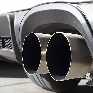 DNA Motoring CBE-NM00 Round CBENM00 Stainless Steel Catback Exhaust System