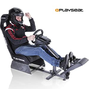 Playseat Evolution Project Cars Edition Racing Video Game Chair for  Nintendo Xbox Playstation CPU Supports Logitech Thrustmaster Fanatec  Steering