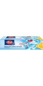Albal Bolsas para cubitos de hielo, cierre automático, 190 ...