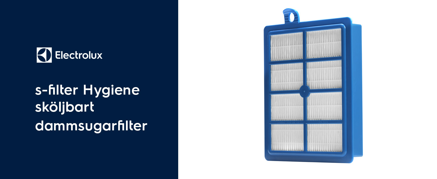 Electrolux s-filter Hygiene sköljbart dammsugarfilter