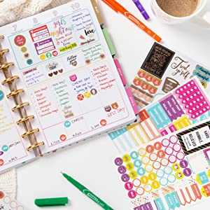 46 pcs//Set One Person Travel Planner Stickers Scrapbooking Journal Stickers WH