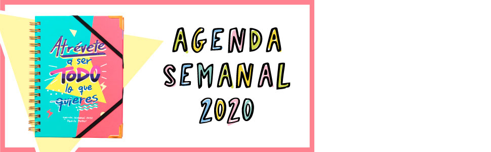 Agenda 2020 semana vista - Pedrita Parker