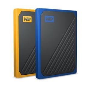 WD My Passport Go 2 TB, Disco duro sólido externo, acabado Ámbar ...