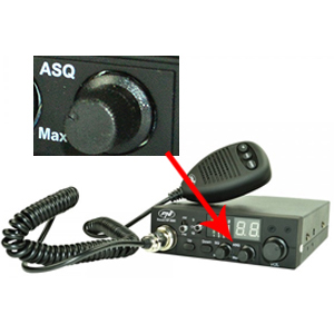 CB de Antena PNI ML100 Conector para mechero y Auriculares hs81l Incluidas Radio CB PNI Escort HP 8001L ASq