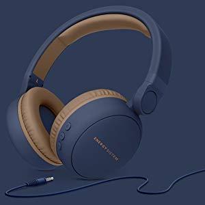 Energy Sistem Headphones 2 Bluetooth Blue Cuffie Wireless con Bluetooth (Batteria, circumaurale, Pieghevole, Ricaricabile e Ingresso Audio) Blu
