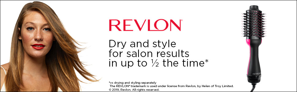 Revlon; One-Step volumizer; dry; style