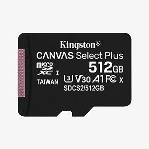 Kingston Canvas Select Plus Microsd Speicherkarte Computer Zubehör